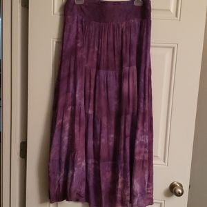 New Direction maxi Skirt size Large